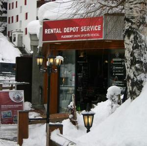 Shop-entrance